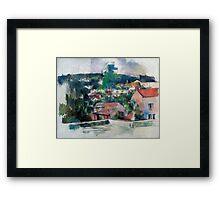1880 - Paul Cezanne - Landscape Framed Print