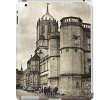 Street in Oxford, England iPad Case/Skin