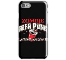 zombie pong iPhone Case/Skin
