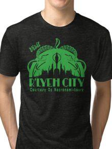 Visit R'lyeh City Tri-blend T-Shirt
