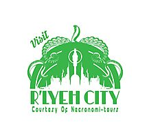 Visit R'lyeh City Photographic Print