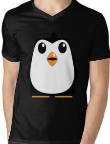 Penguin Mens V-Neck T-Shirt
