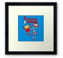 Adventure Time Superheroes Framed Print