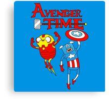 Adventure Time Superheroes Canvas Print