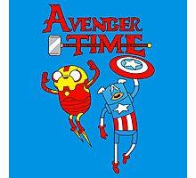 Adventure Time Superheroes Photographic Print