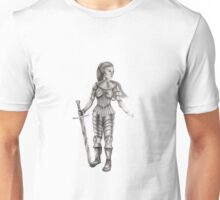 Lady Knight Unisex T-Shirt