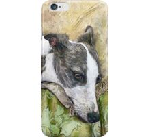 Whippet in Repose iPhone Case/Skin