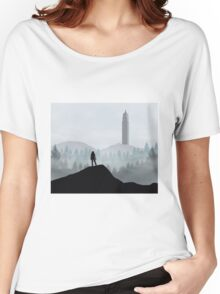 The 100 - Flat Landscape Women's Relaxed Fit T-Shirt