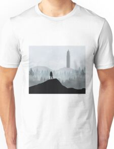 The 100 - Flat Landscape Unisex T-Shirt
