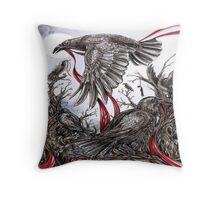 Messengers  Throw Pillow