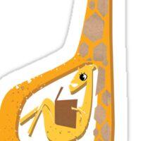 Ange the pregnant giraffe Sticker