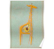 Ange the pregnant giraffe Poster