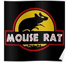 Jurassic Mouse Rat Poster