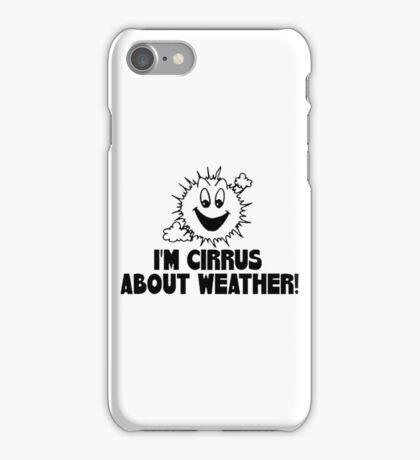 Cirrus Cloud Geek Nerd iPhone Case/Skin