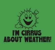 Cirrus Cloud Geek Nerd Kids Tee