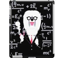 English Sheepdog as Einstein iPad Case/Skin