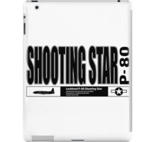 Shooting Star Fighter iPad Case/Skin