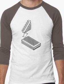 Bricking It Men's Baseball ¾ T-Shirt