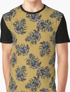 Abstract seamless pattern with bird Graphic T-Shirt