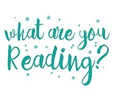 What are you reading? Photographic Print