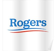 rogers presidential campaign  Poster