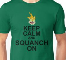 Keep Calm and Squanch On Unisex T-Shirt