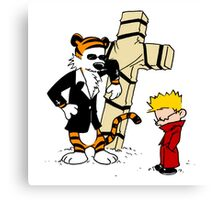 Calvin & Hobbes - StackedImages Canvas Print