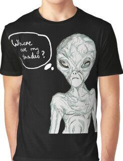 alien comic Graphic T-Shirt