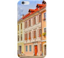 Firytale town in Slovenia iPhone Case/Skin