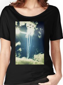 Formation in the Sky Women's Relaxed Fit T-Shirt