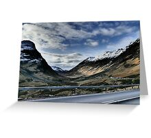 Glencoe HDR  , the Highlands , Scotland Greeting Card