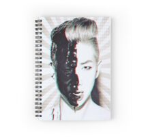 Rap monster Spiral Notebook