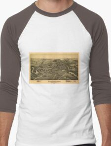 Cambridgeboro Crawford County Pennsylvania (1895) Men's Baseball ¾ T-Shirt