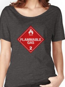 FLAMMABLE GAS! Women's Relaxed Fit T-Shirt