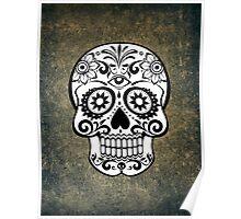 Modern Skull Poster