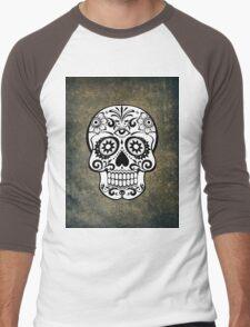 Modern Skull Men's Baseball ¾ T-Shirt