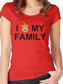 I Squanch My Family Women's Fitted Scoop T-Shirt