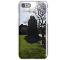 Winter Sunshine at Rowntree Park iPhone Case/Skin
