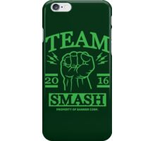 Team Smash iPhone Case/Skin