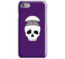 Brainy Skull iPhone Case/Skin