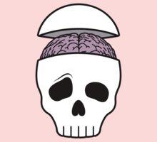 Brainy Skull Baby Tee