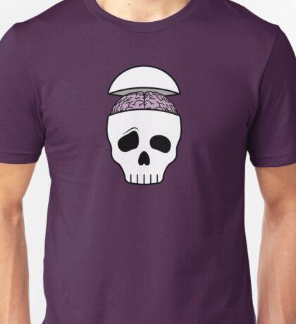 Brainy Skull Unisex T-Shirt