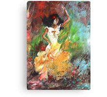Impression Of Flamenco Canvas Print