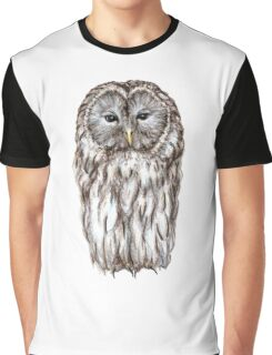 Ural white owl Graphic T-Shirt