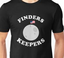 Finders Keepers USA Moon Shirt Unisex T-Shirt