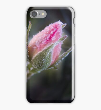 Frosted Rosebud iPhone Case/Skin