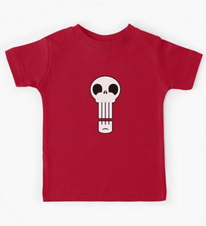 Long Skull Kids Tee