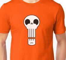 Long Skull Unisex T-Shirt