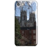 The Minster from the York City Walls iPhone Case/Skin