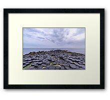 Rocks of the Giant's Causeway Framed Print